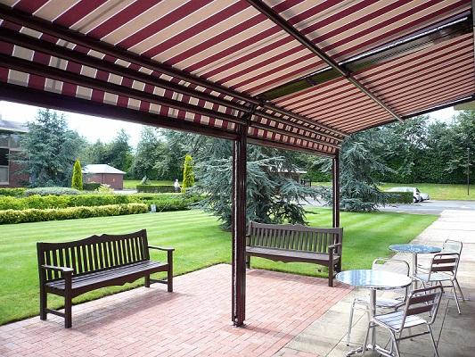 Tende Da Sole Patio : Arredamento outdoor gazebo tende da sole o pergotenda casa